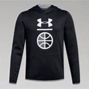NWT Under Armour Fleece Basketball Hoodie